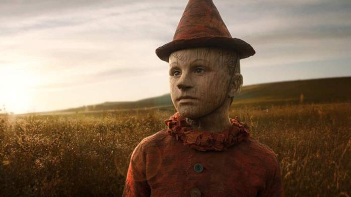 Pinocchio guarda l'orizzonte