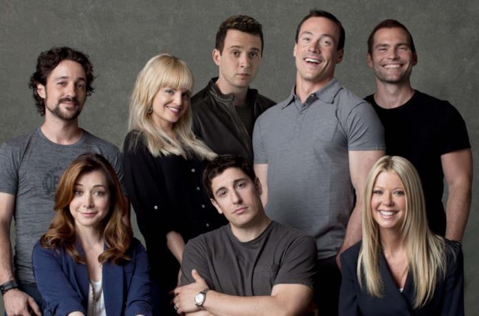 Una foto del cast di American Pie - Ancora insieme
