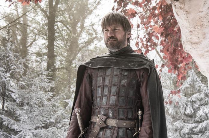Nikolaj Coster-Waldau nei panni di Jaime Lannister in Game of Thrones