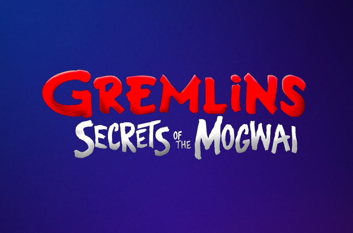 Il logo della serie animata Gremlins: Secrets of the Mogwai
