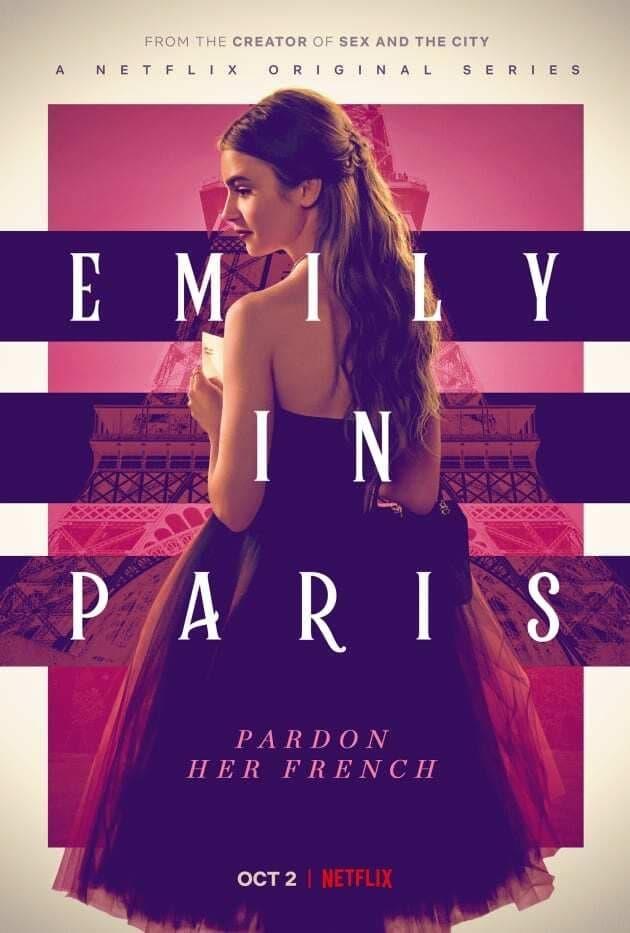 Il poster di Emily in Paris