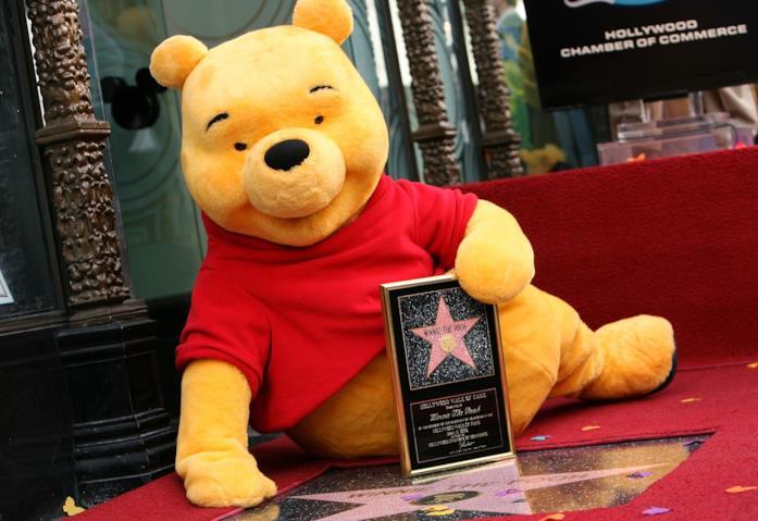 Winnie the Pooh tiene la sua stella sulla Walk of Fame