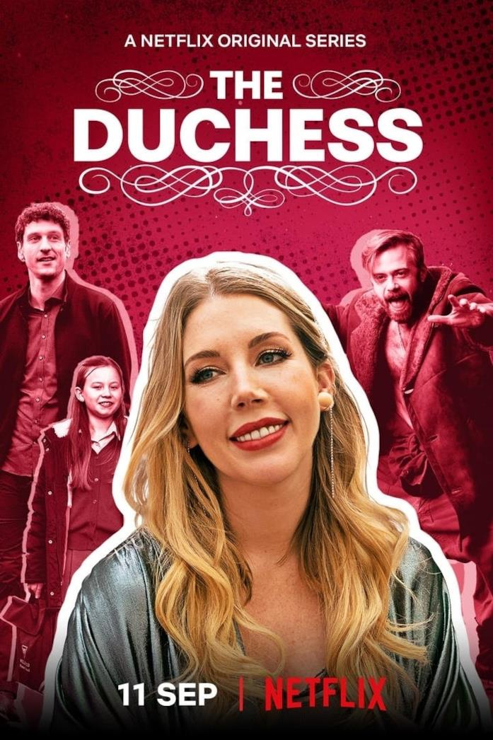 Il cast di The Duchess nel poster della serie