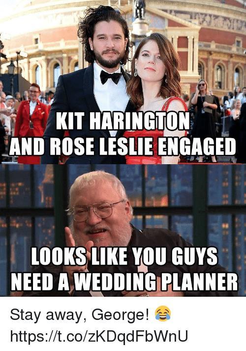 George R.R. Martin, wedding planner perfetto