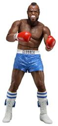 NECA ROCKY III CLUBBER LANG BLU PANT. 40TH ANNIVERSARY ACTION FIGURE
