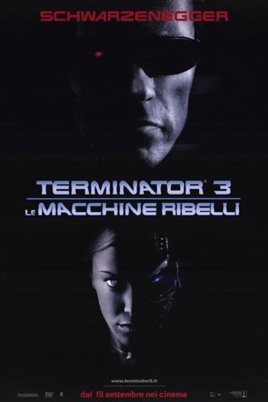 Poster Terminator 3 - Le macchine ribelli