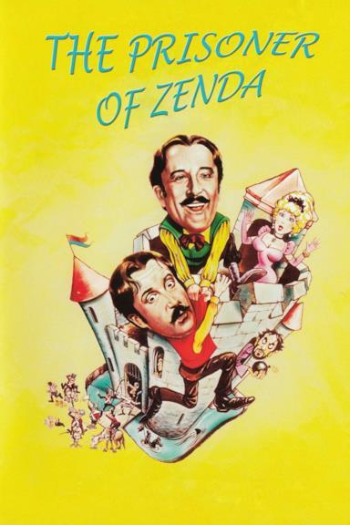 Poster Il prigioniero di Zenda