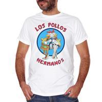 T-Shirt Los Pollos Hermanos Breaking Bad - Film Choose ur Color - Uomo-L-Bianca