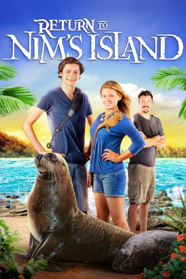 Poster Ritorno all'isola di Nim