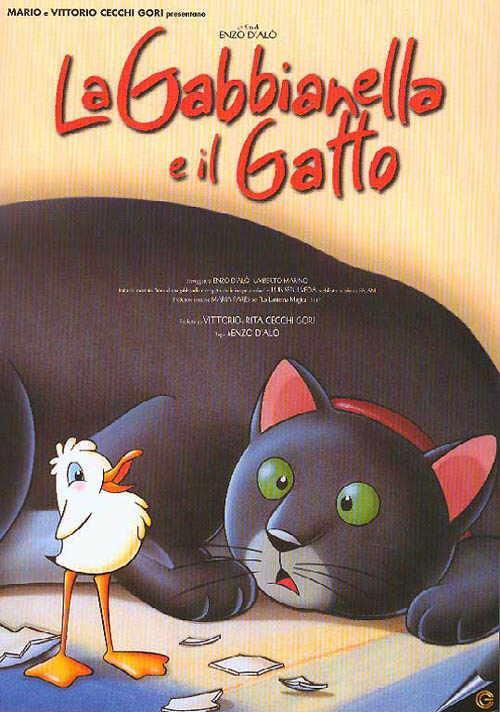 Poster di La Gabbianella e il Gatto