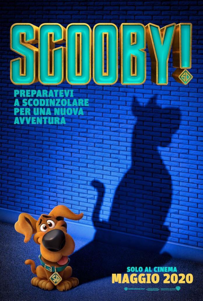 Baby Scooby-Doo nel poster italiano di SCOOBY!