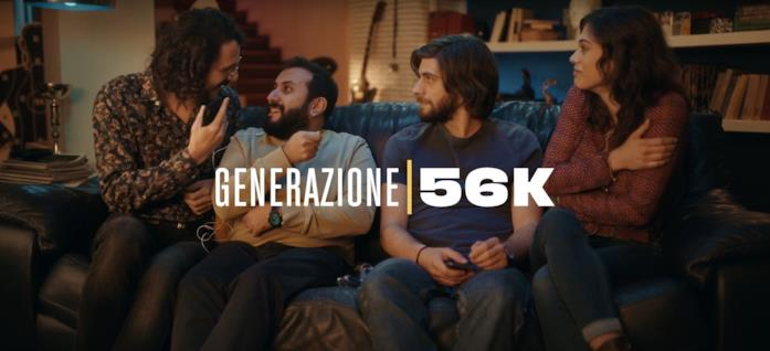 Il cast di Generazione 56K
