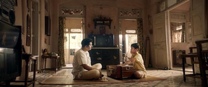 Una scena del film The Disciple