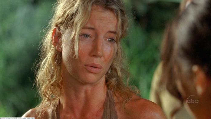 Libby in una scena di Lost