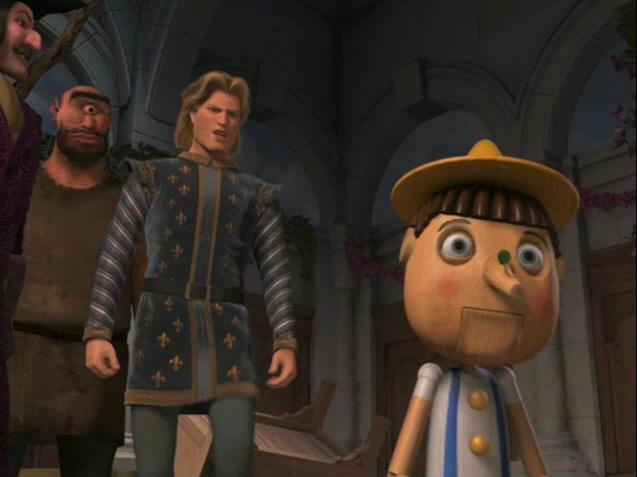 Shrek 2, Pinocchio