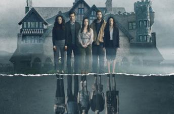 Il poster promozionale di Hill House
