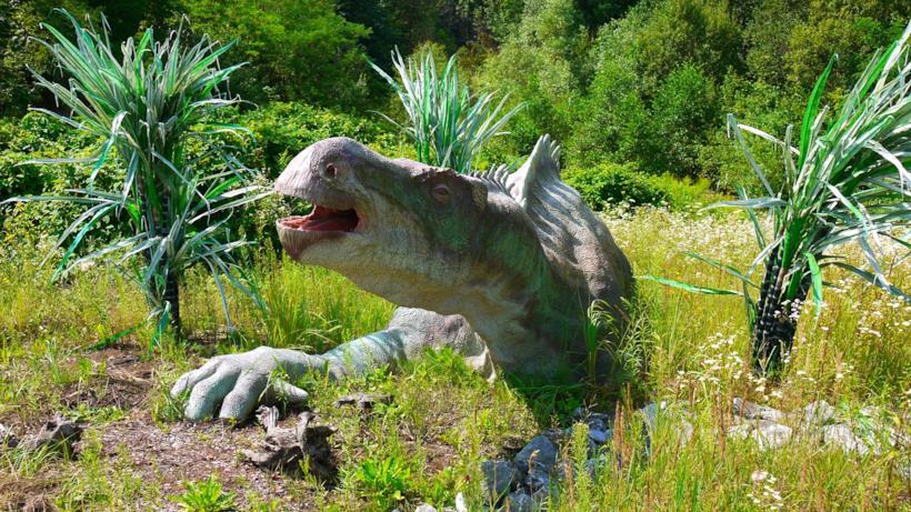 Un Iguanodon ricreato