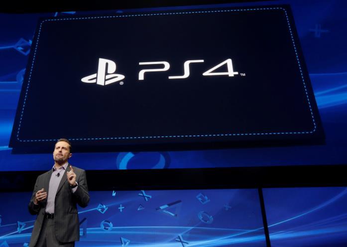 Andrew House alla presentazione di PlayStation 4