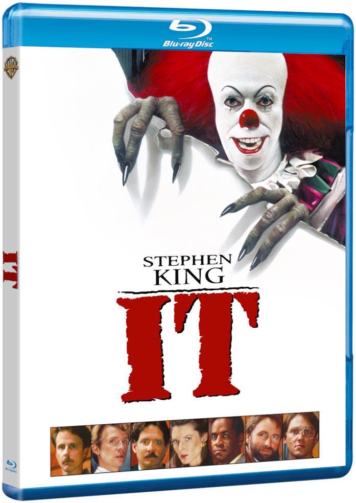 Packshot della miniserie IT in Blu-ray