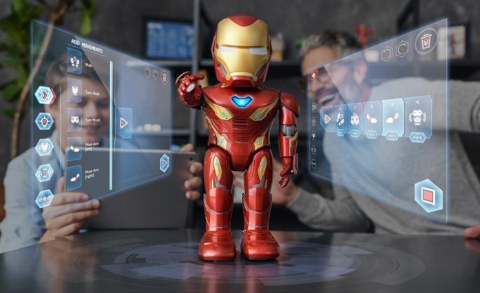 Iron Man MK50 Robot in azione