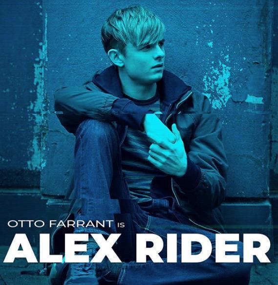 Otto Farrant è Alex Rider