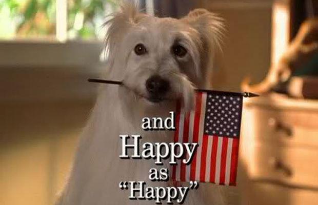 Happy, il cane di Settimo Ciel