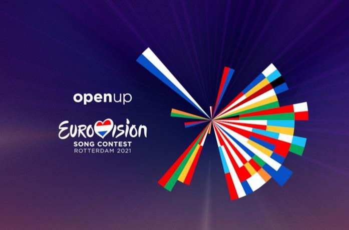 il logo 2021 dell'Eurovision