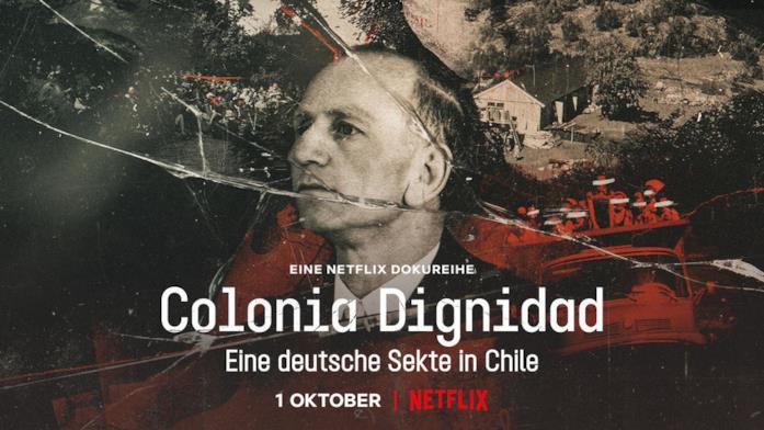 Il poster di Colonia Dignidad: una setta tedesca in Cile