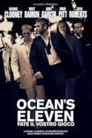 Poster Ocean's Eleven - Fate il vostro gioco