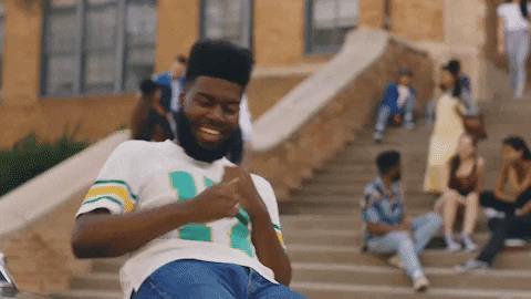 GIF danza di gioia di Khalid