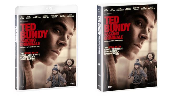 Ted Bundy - Fascino criminale - il film nei formati DVD e Blu-ray