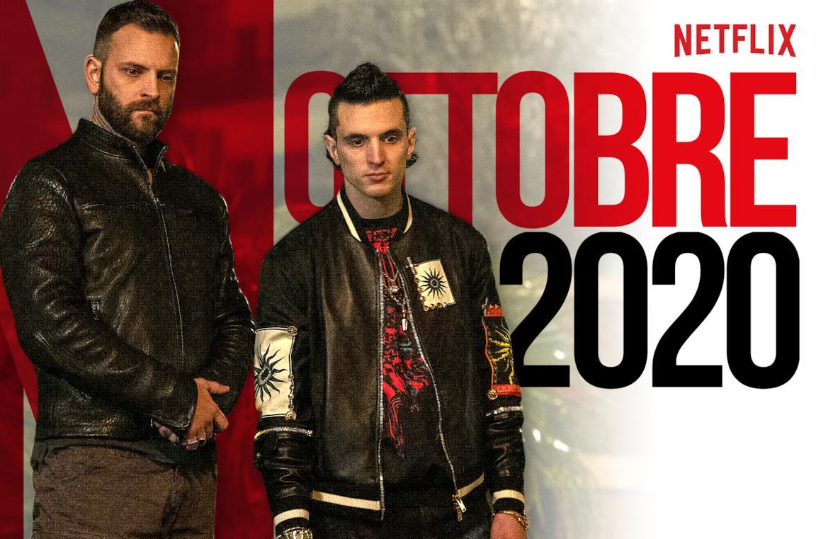 Una scena di Suburra, nel catalogo di Netflix a ottobre 2020