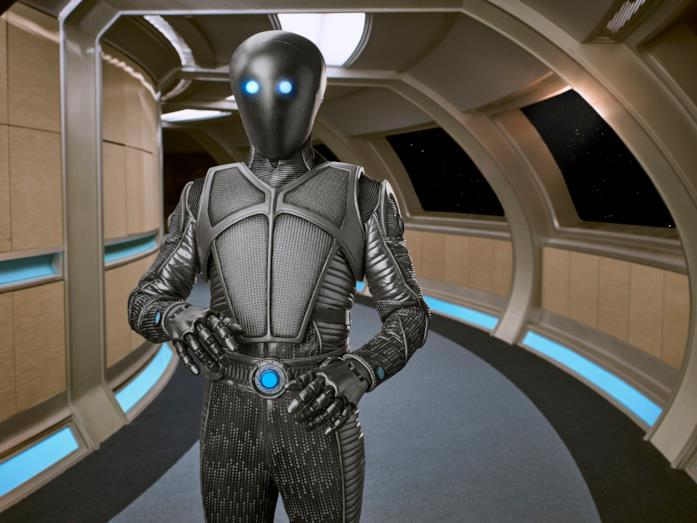 The Orville: l'androide Isaac, Ufficiale Scientifico.