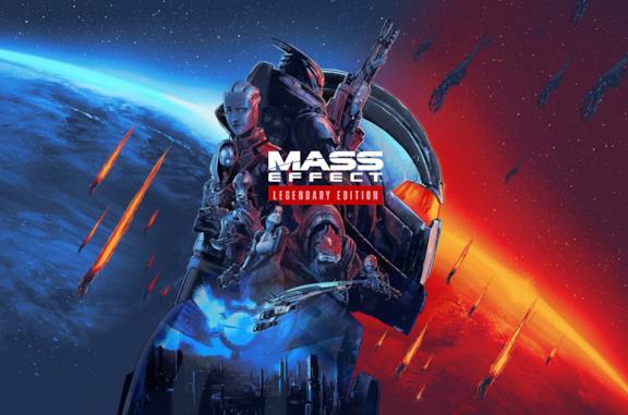 La cover ufficiale di Mass Effect Legendary Edition