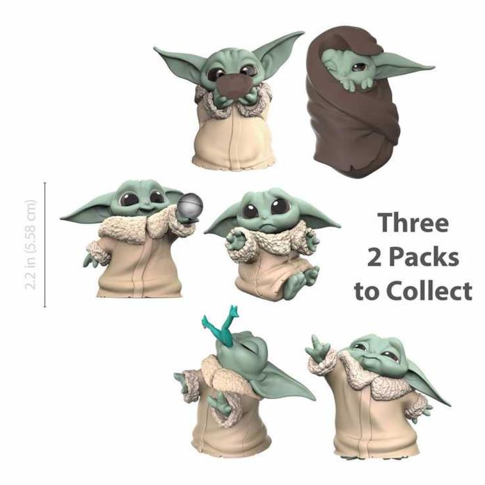 Collezione Bounty - giocattoli Baby Yoda by Hasbro