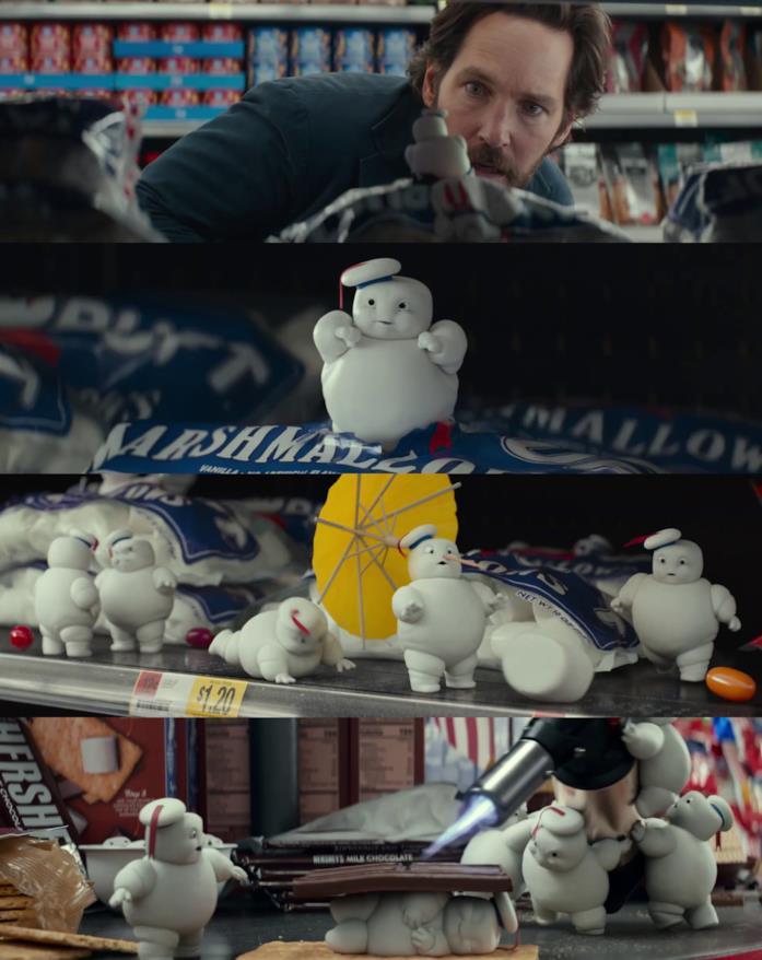 Ghostbusters: Legacy - mini omini marshmellow