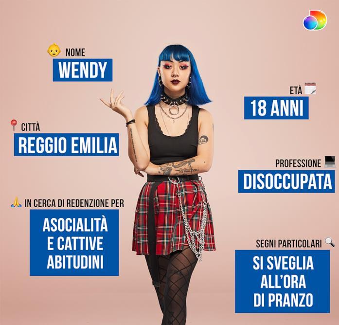 La scheda di Wendy