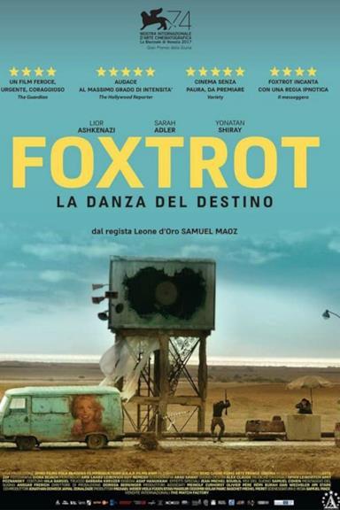 Poster Foxtrot - La danza del destino