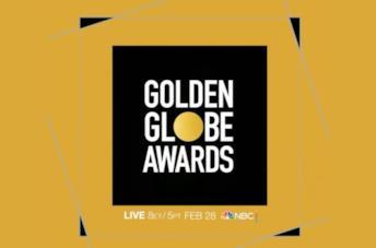 Il logo dei Golden Globes