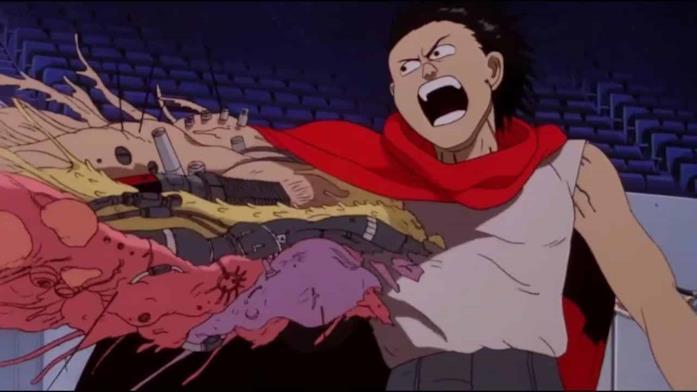 Tetsuo, il protagonista di Akira