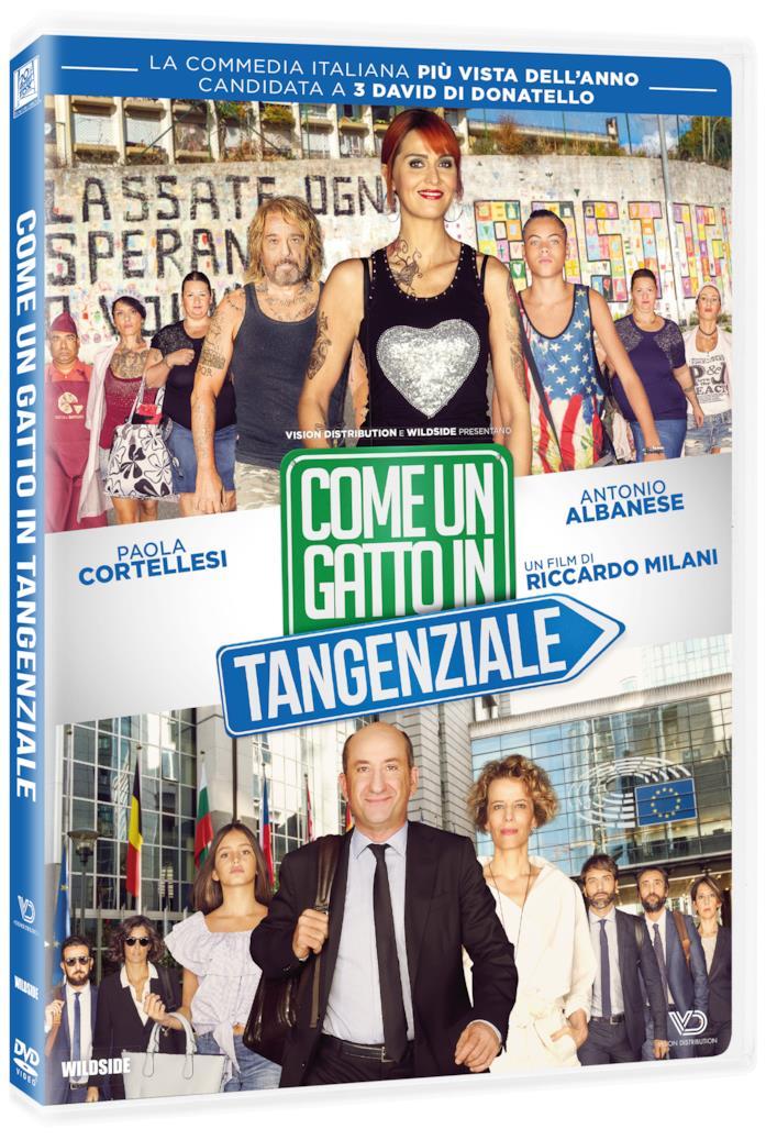Arriva in DVD Come un gatto in tangenziale, la commedia con Albanese e Cortellesi