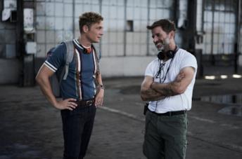 Matthias Schweighöfer e Zack Snyder