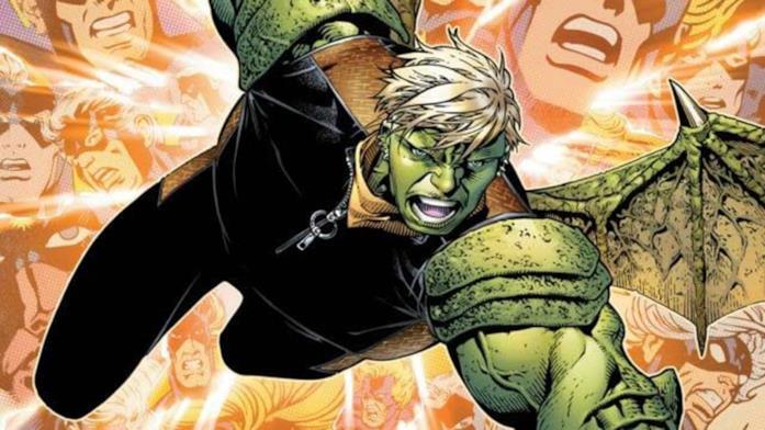 Dettaglio della cover di Young Avengers Presents #2