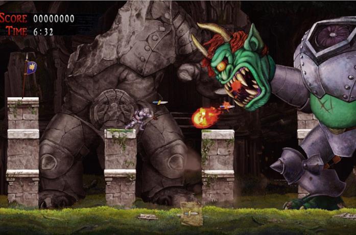 Il logo di Ghosts 'n Goblins Resurrection