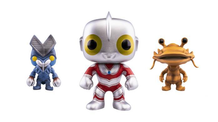Ultraman Funko Pop: Ultraman Ace, Alien Baltan e Kanegon