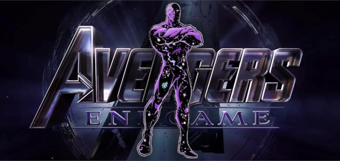 Il logo di Avengers Endgame