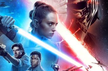 Poster promozionale di Star Wars L'Ascesa di Skywalker