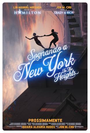 Due ballerini nel poster di Sognando New York - In the Heights