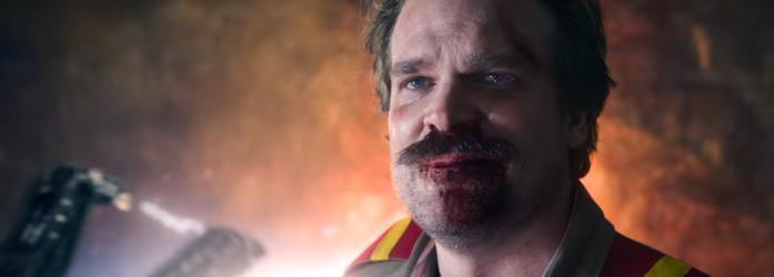 Lo sguardo di Hopper nel finale della terza stagione
