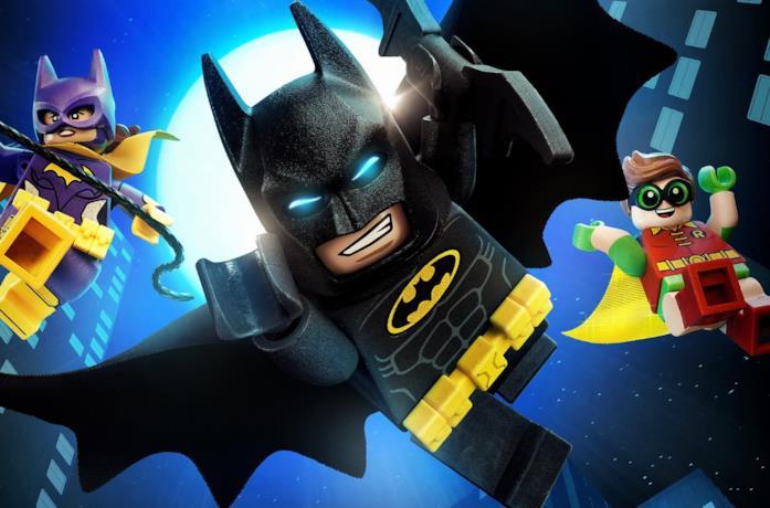 I protagonisti del film d'animazione LEGO Batman - Il Film